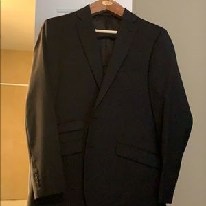 Calvin Klein Charcoal Two Piece Suit
